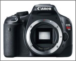 Canon EOS Rebel T2i Digital SLR