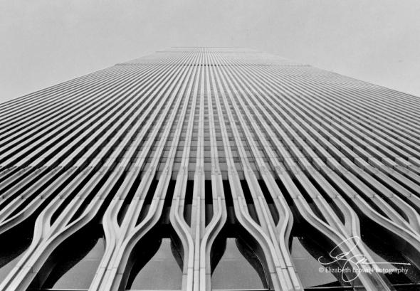 World Trade Center South Tower, New York, New York. December 3, 2000.
